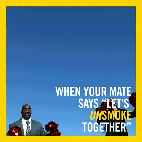 When your mate says let's unsmoke together